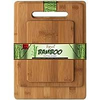Planche à découper Bambou Royal Bamboo 3 pièces / ensemble: 38x30cm, 33x24cm, 28x20cm