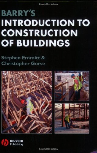 Barry′s Introduction to Construction of Buildings