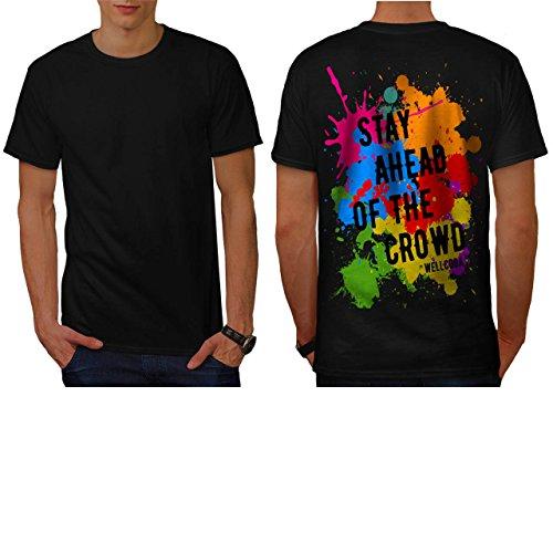 sein-original-spass-abstrakt-kunst-herren-neu-schwarz-l-t-shirt-zuruck-wellcoda