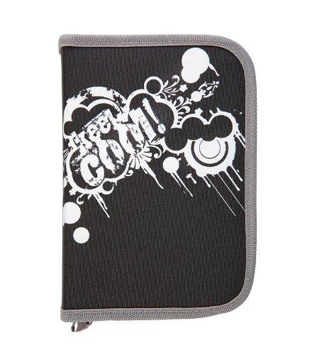 Federtasche Federmappe 50teilig 'Keep Cool' Farbe: grau