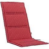 Kettler Advantage Chaises & Chaise avec dossier kte15Coussin pour chaise empilable 110x 48x 3cm dess. 675, rouge