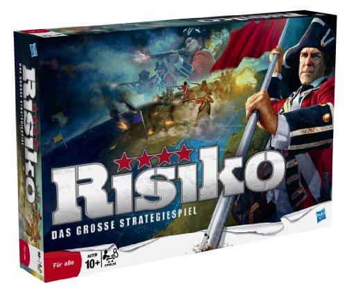 Preisvergleich Produktbild Hasbro Spiele 28720100 - Risiko, Strategiespiel