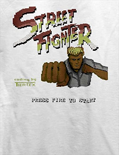 Streetfighter T-Shirt Weiß