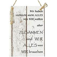 Suchergebnis auf Amazon.de für: holzschilder mit sprüchen vintage