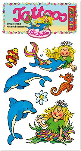 ngfrau Tattoos von Lutz Mauder // Kinder Kindertattoo Tatoo Tatto Kindergeburtstag Geburtstag Mitgebsel Geschenk ()