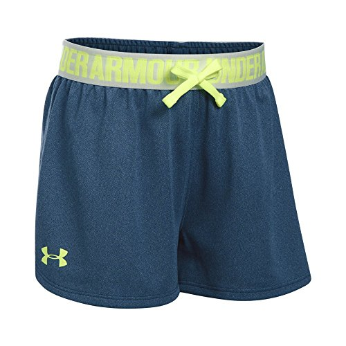 Under Armour Mädchen Play Up Shorts Kurze Hose, Marine (Schwarzout Navy), YSM (Marine Armour Under)