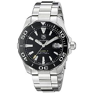 TAG Heuer Herren WAY211A.BA0928 Aquaracr Analog Display Schweizer Automatik Silber Armbanduhr