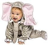 Fancy Me Baby Kleinkind Tier Overall Halloween büchertag Kostüm Kleid Outfit 6 Monate - 2 Jahre - Elefant, 12-24 months