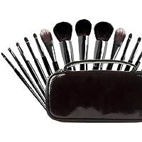 8pièces de Premier Niveau Chinchilla cheveux maquillage Set de brosses
