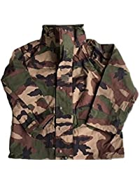 Genuine French Army Goretex Mvp Waterproof Ce Pattern Camouflage Combat Jacket, new