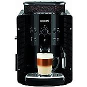 KRUPS EA8108 Kaffeevollautomat (1,8 l, 15 bar, CappuccinoPlus-Düse) schwarz