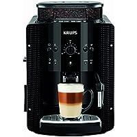 Krups EA8108 Kaffeevollautomat (1450 Watt, 1,8 Liter, 15 bar, CappuccinoPlus-Düse, Dampfdüse) schwarz