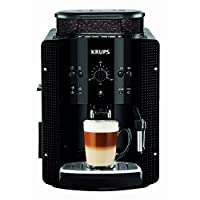 Krups Coffee machine Krups EA8108 | black.This product is sourced from a supplier in continental Europe and the item is designed for use in Europe. For electrical goods you may be required to buy plug converters or UK cables to connect in UK ...
