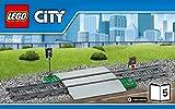Lego City Eisenbahn Bahnübergang aus Set 60098
