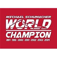 MBA-SPORT Michael Schumacher Flagge World Champion