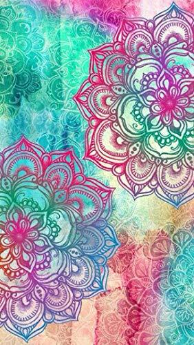 Puzzle 1000 Piezas Para Adultos De Madera Niño Rompecabezas-Tres Flores De Mandala-Juego Casual De Arte Diy Juguetes Regalo Interesantes Amigo Familiar Adecuado