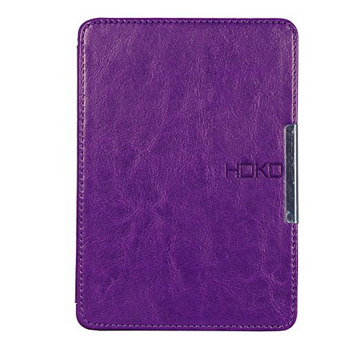 Bepak® Flip Cover For Kindle Paperwhite 2nd Gen Pu Leather Kickstand Case Cover For Kindle Paperwhite 2nd Gen (purple)