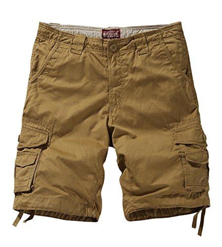 Match S3612 - Pantalones Cortos Cargo HombreCaqui