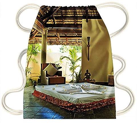 Irocket–Zen Paradise–Spa Yoga Retreat–Cordon de serrage Sac à dos Sac Sac