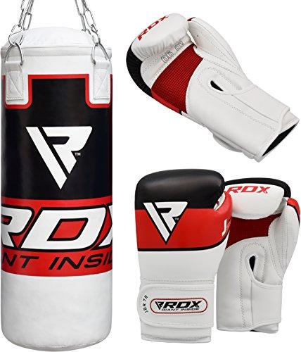 RDX kinder Boxsack Set Gefüllt Kickboxen MMA Kampfsport Muay Thai Boxen mit kette Training Handschuhe Abbildung 2