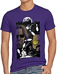 style3 Le Duc T-Shirt Homme the dude bowling lebowski joueur big rude