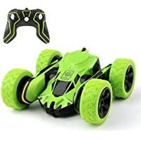 Cocopa RC Car Off Road 2WD Stunt Car 2.4GHz Green Remote Control Racing Vehicle