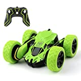 Cocopa RC Car Off Road 2WD Stunt Car 2.4GHz Green Remote Control Racing
