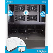 Wii U - 4+1 Charger Black (Ladestation)