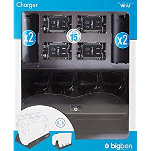 Wii U – 4+1 Charger Black (Ladestation)