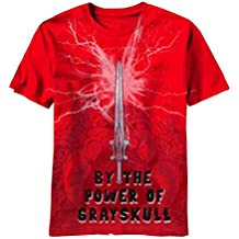 Men's Red Masters Of The Universe The Sword T-Shirt 2X