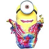 Minions Plüschtier Plüsch Figur Kuscheltier Stofftier XXL Stuart im Hippie Love Peace Kostüm 60cm [Versand durch Konsumany®]