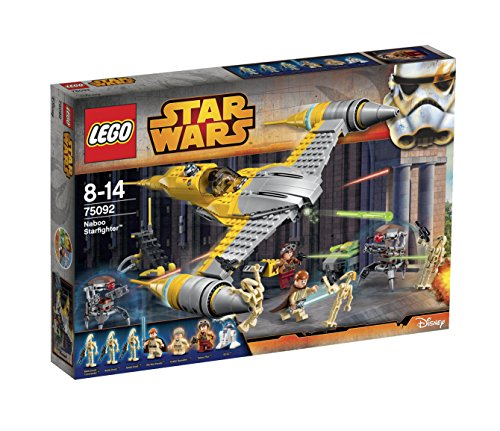 LEGO Star Wars 75092 - Naboo Starfighter (Lego Star Wars Naboo Battle)