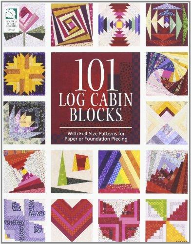 101 Log Cabin Blocks por Jeanne Stauffer