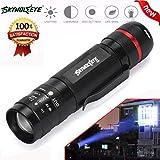 HCFKJ 3000LM zoombare CREE XM-L T6 LED 18650 Taschenlampe Super helle Ablaufschläuche Taschenlampe