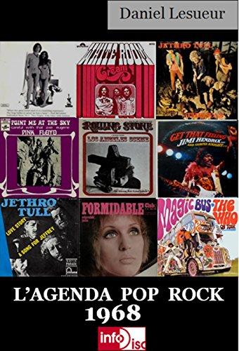 L'Agenda Pop Rock 1968 par Daniel Lesueur