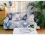 Gesamte Paket von Sofa Cover 230-300cm hellblau