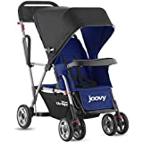 Joovy Caboose Ultralight Stand on Tandem Double Pushchair for Newborn (Blue)