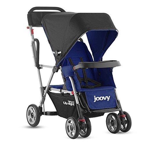 Joovy 00670 Carrozzina/Passeggino Tandem Ultraleggero, Blu/Blueberry