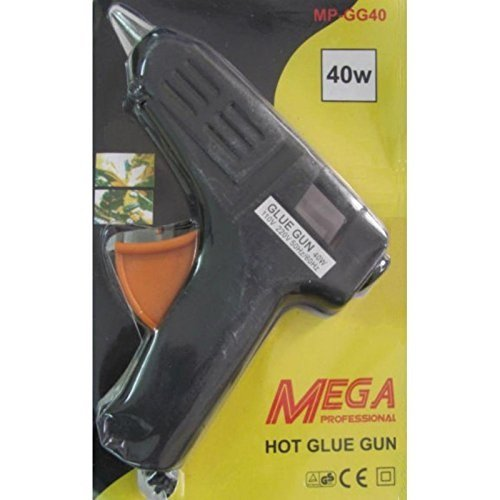 40 Watt Brand New Hot Melt Glue Gun with 5 Pieces Glue Sticks Free