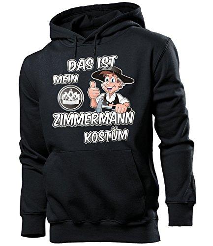Das ist mein ZIMMERMANN Kostüm 4986 Herren Hoodie (HKP-SW) Gr. XXL (Zimmermann Kostüme)
