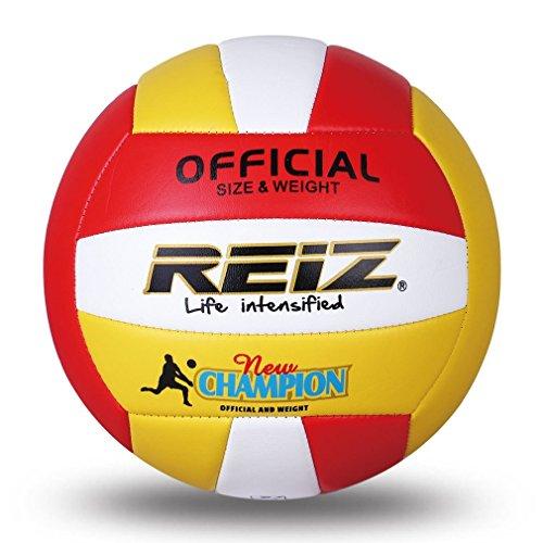 Jiobapiongxin Reiz Weiche PU Volleyball Offizielle Größe 5# Volleyball Professionelle Indoor & Outdoor Trainingsball Mit Freies Geschenk Net Nadel JBP-X