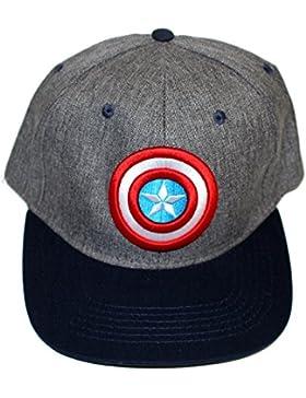Gorra New Era Marvel diseño Capitan America 56cm