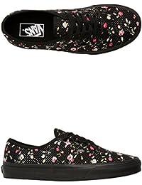 Vans U AUTHENTIC (MONO) BLACK - Zapatillas de lona para mujer