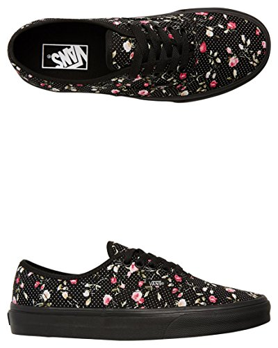 Vans U Authentic , Baskets mode mixte adulte Noir
