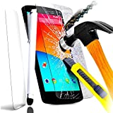 WIKO SUNNY Film en Verre Trempe pour WIKO SUNNY + STYLET BLANC
