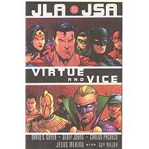 JLA/JSA: Virtue and Vice (JLA (DC Comics Unnumbered Paperback)) by Geoff Johns (2003-10-01)