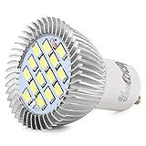 YouOKLight 8er-Pack, GU10 7.5W 15-SMD 5630 Kaltes Weiß LED-Birne - 60W Equivalent Glühlampenlicht 700 Lumen 120 Grad Abstrahlwinkel, LED-Scheinwerfer-Birnen-Bi-Pin-Lights AC85-265V