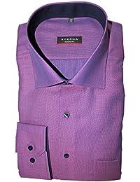 eterna Herren Hemd Langarm Modern Fit Elegantes Business Büro Freizeit  Hemden 4254 52 X15K Beere… 2de256c1cd