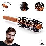 Männer Rundbürste für den Bart