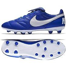 Nike Botas Premier II Piel De Canguro Suela FG Azul/Blanco Adulto